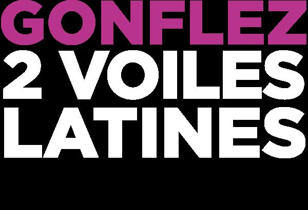 Gonflez 2 voiles latines